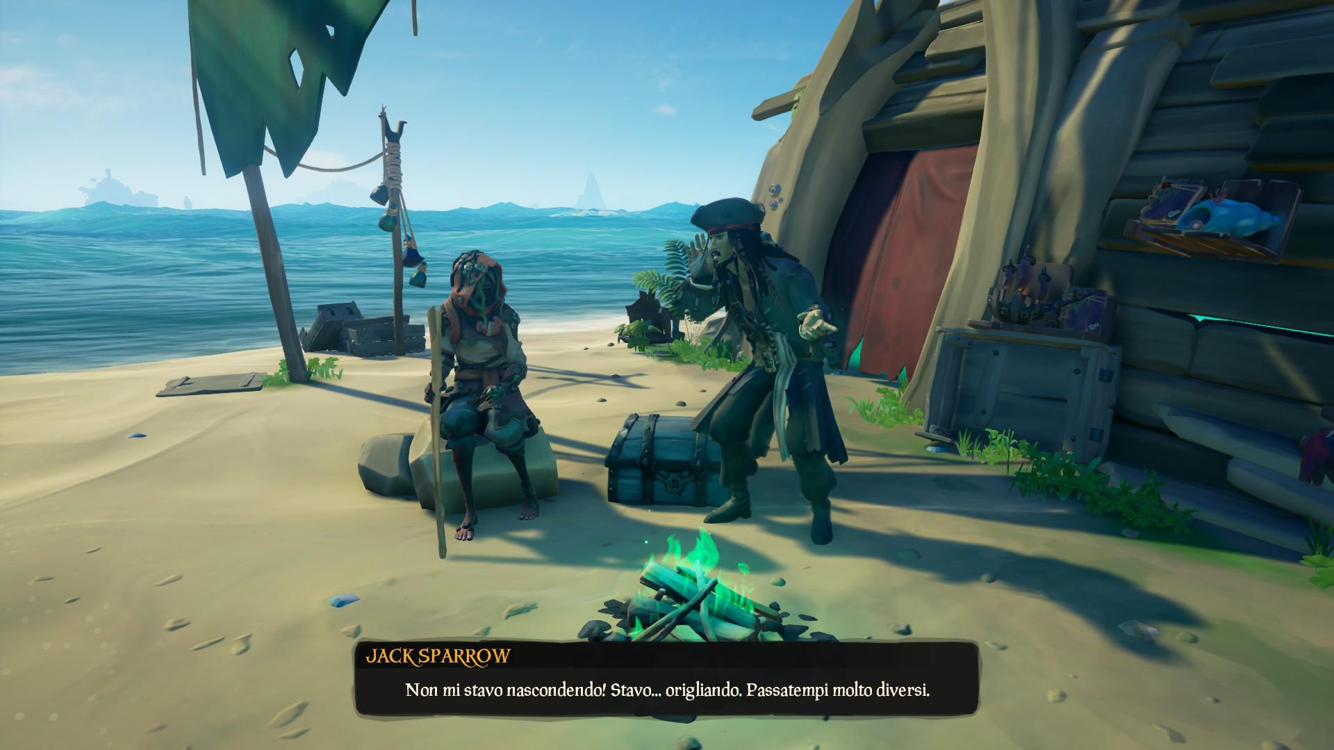 Fratellanza Oscura: Jack Sparrow