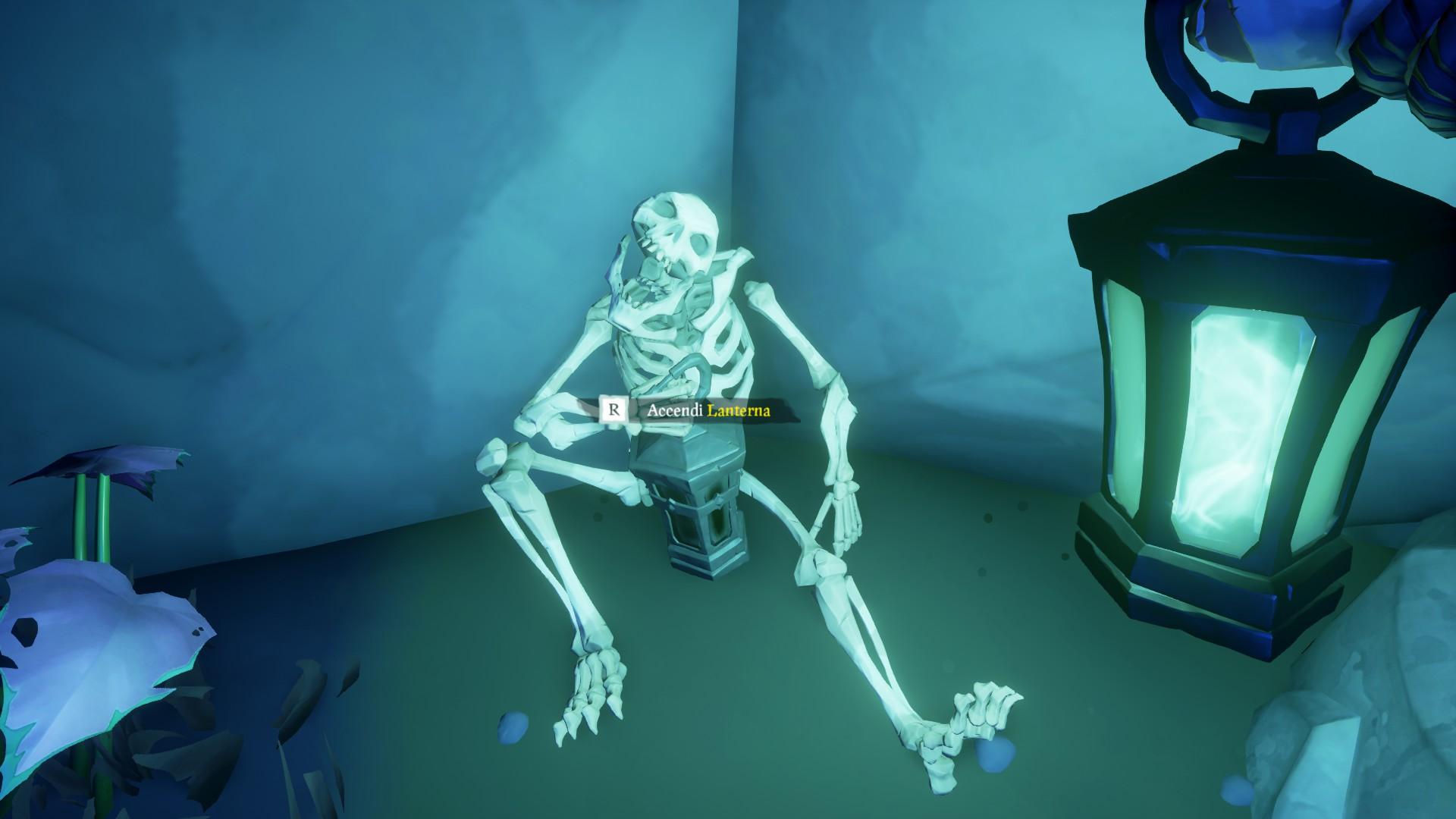 Vita da Pirata, accendere la terza lanterna.