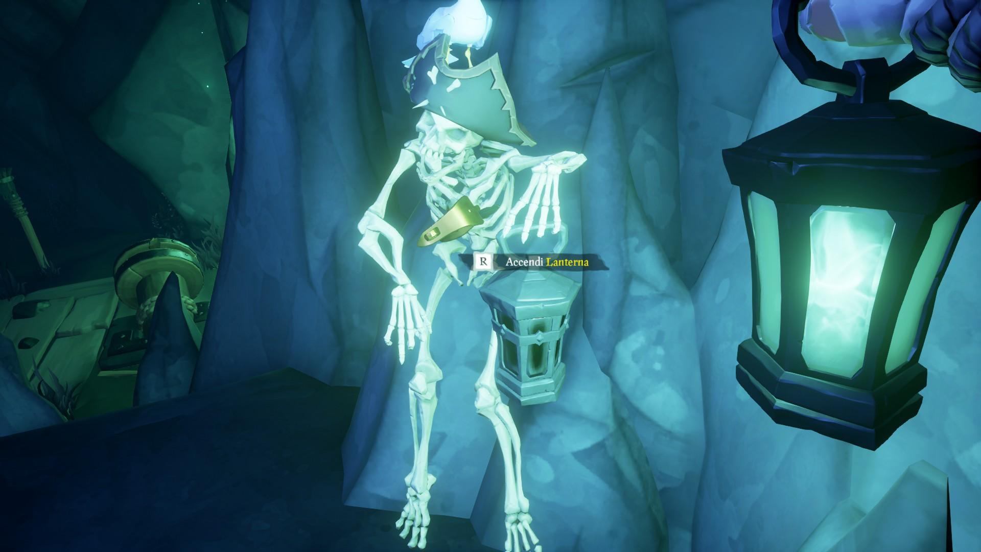 Vita da Pirata, accendere la lanterna.