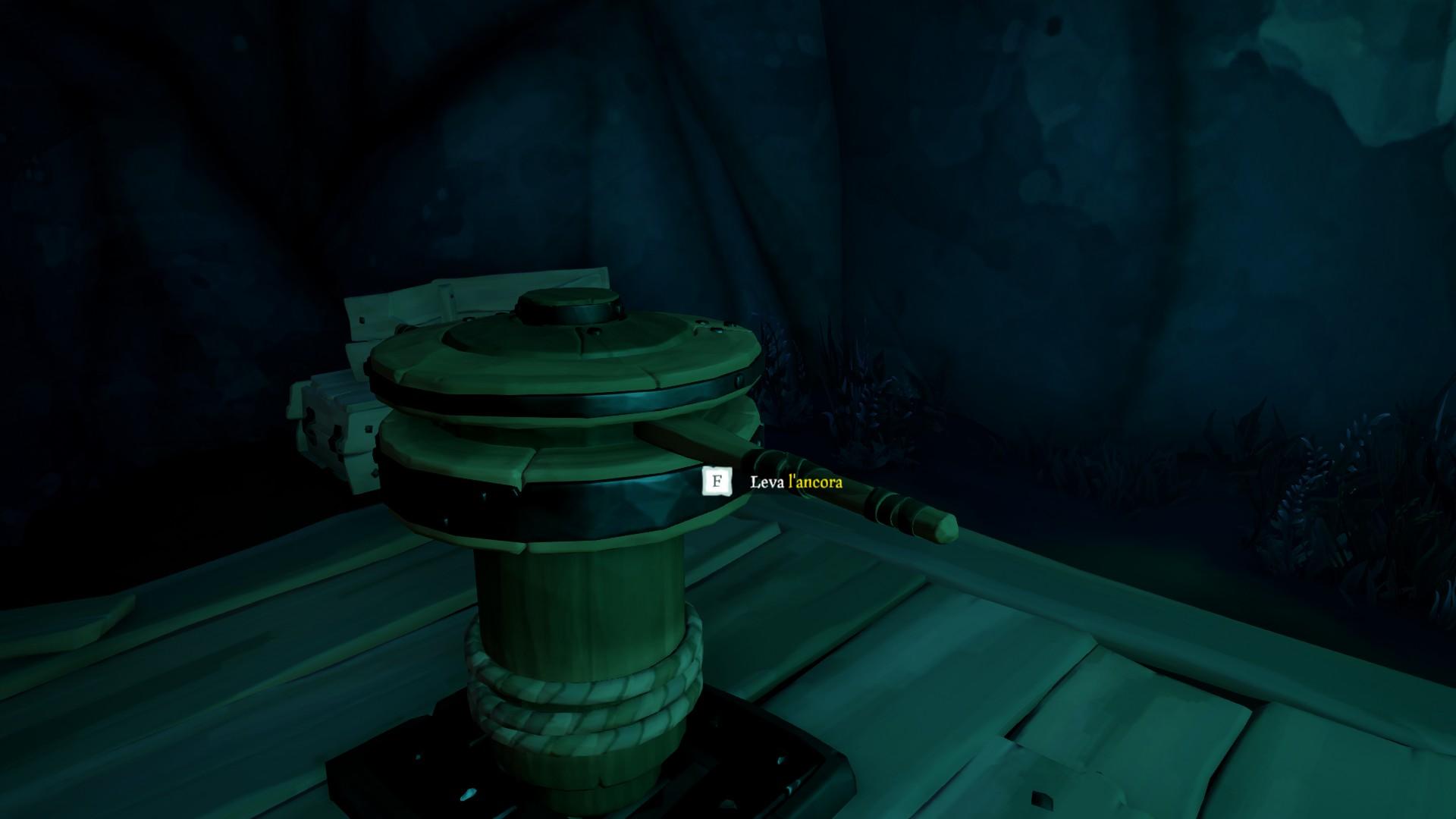 Vita da Pirata, usare l'argano.
