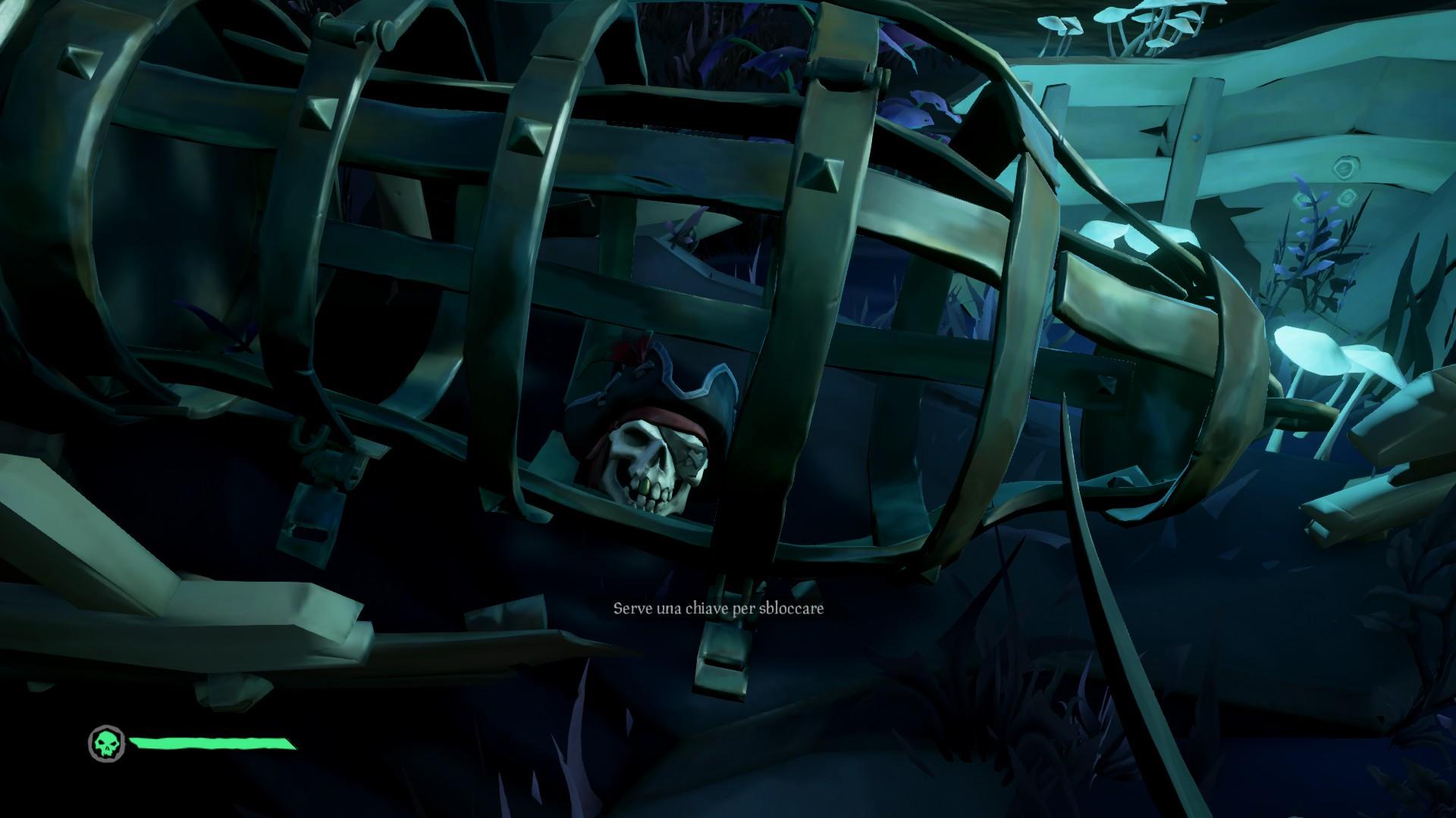 Vita da Pirata, la Gabbia del Capitano Maledetto.