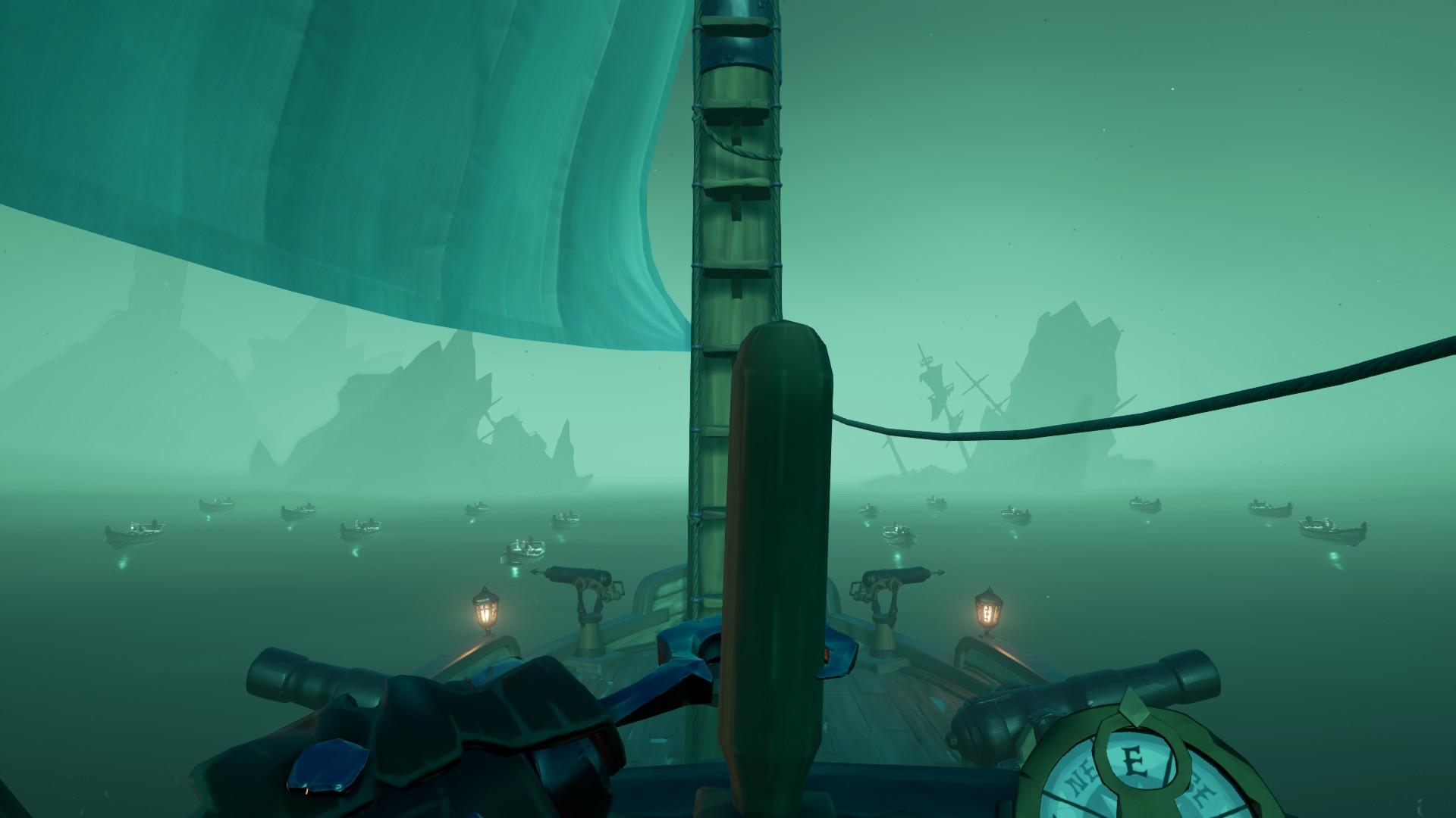 Vita da Pirata, il Mare dei Dannati.