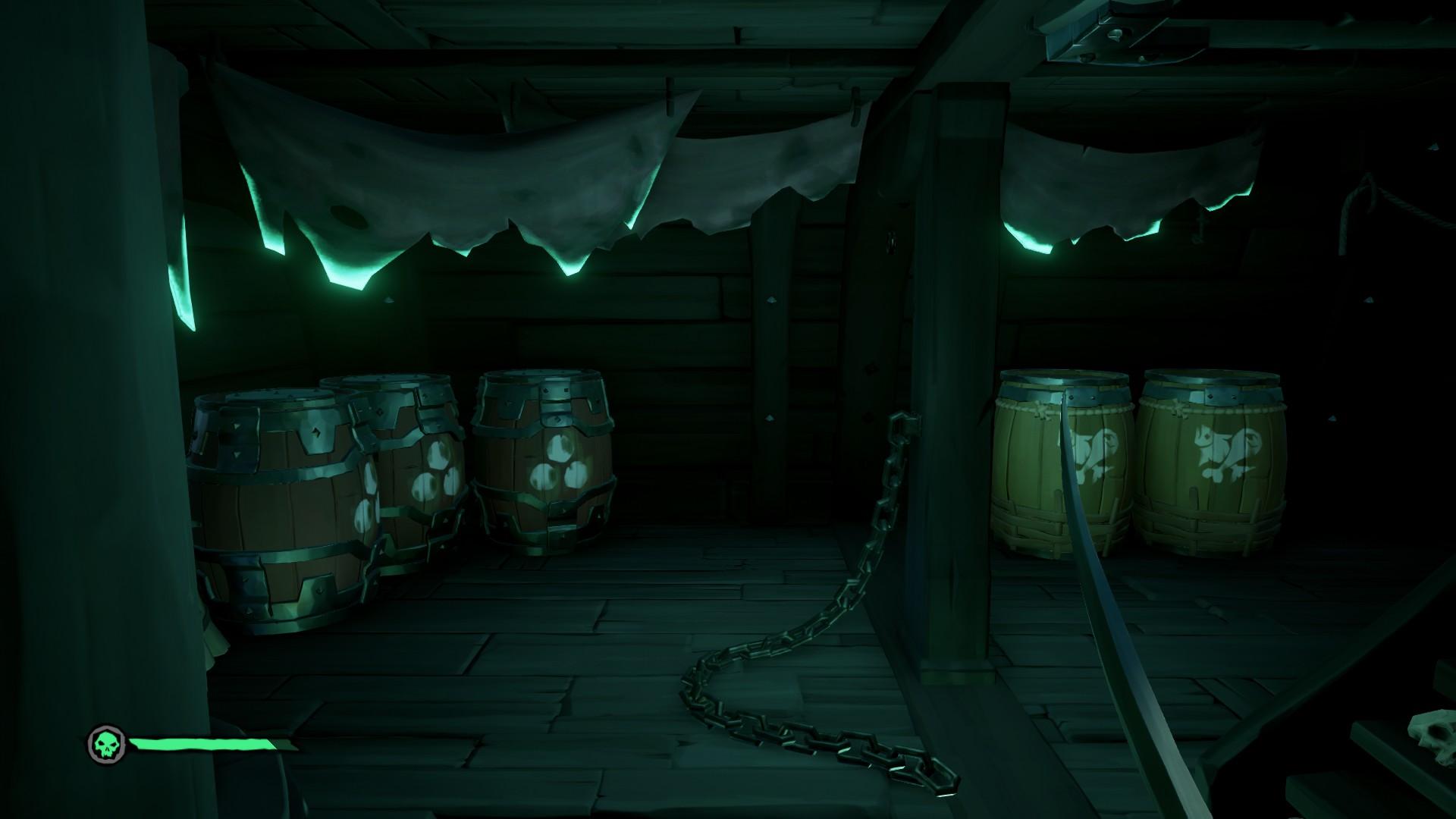 Vita da Pirata, la stiva del Traghetto dei Dannati.