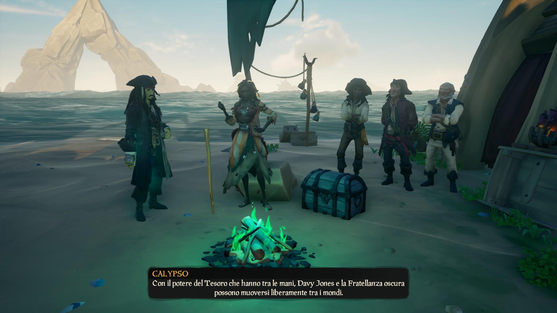 Signori del Mare, il briefing a inizio missione