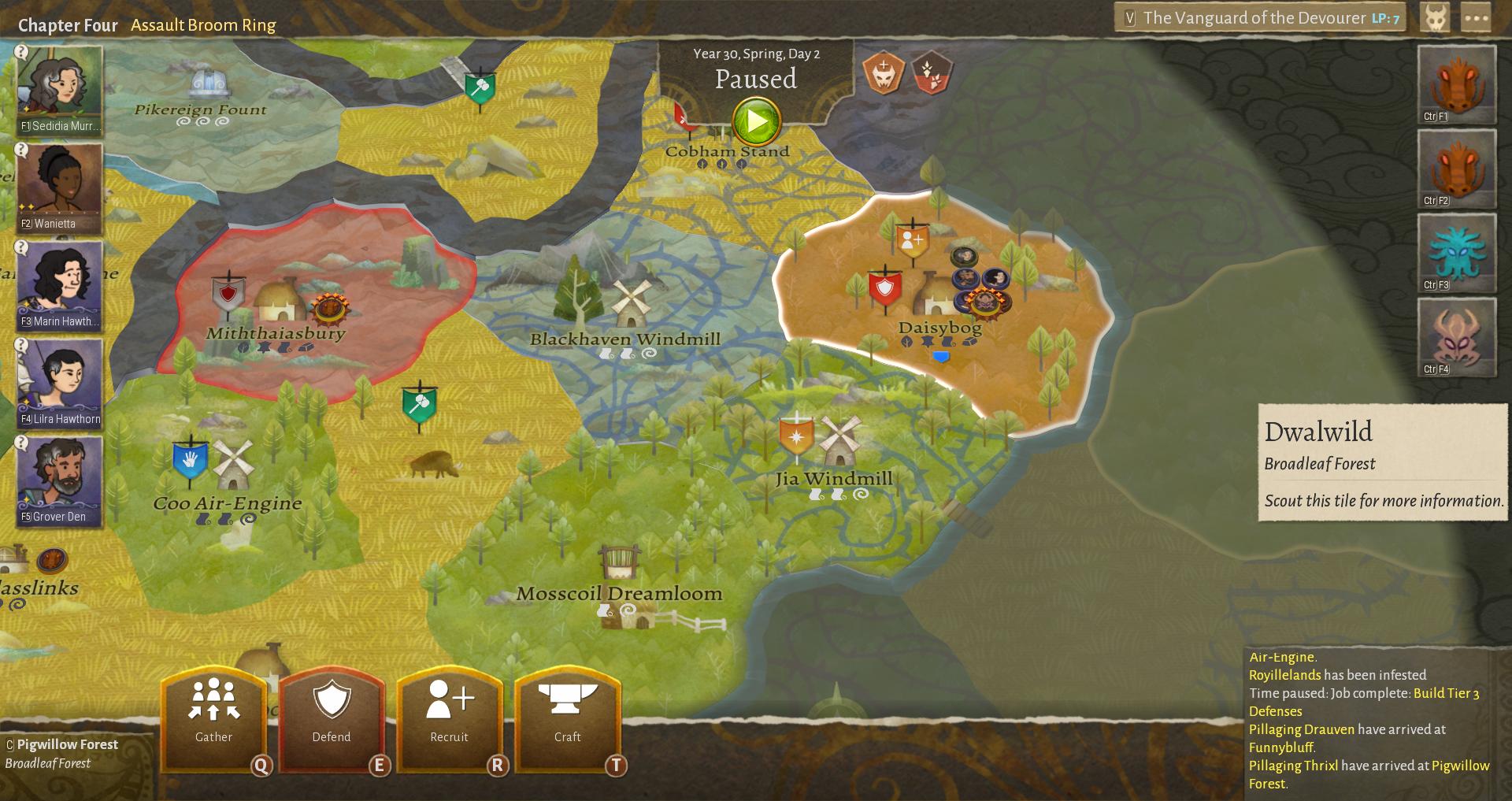Wildermyth maps