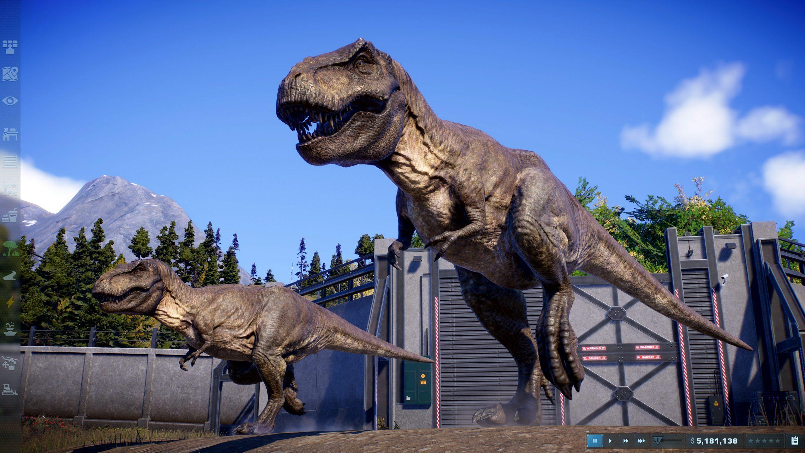 Jurassic World Evolution 2, T.Rex.