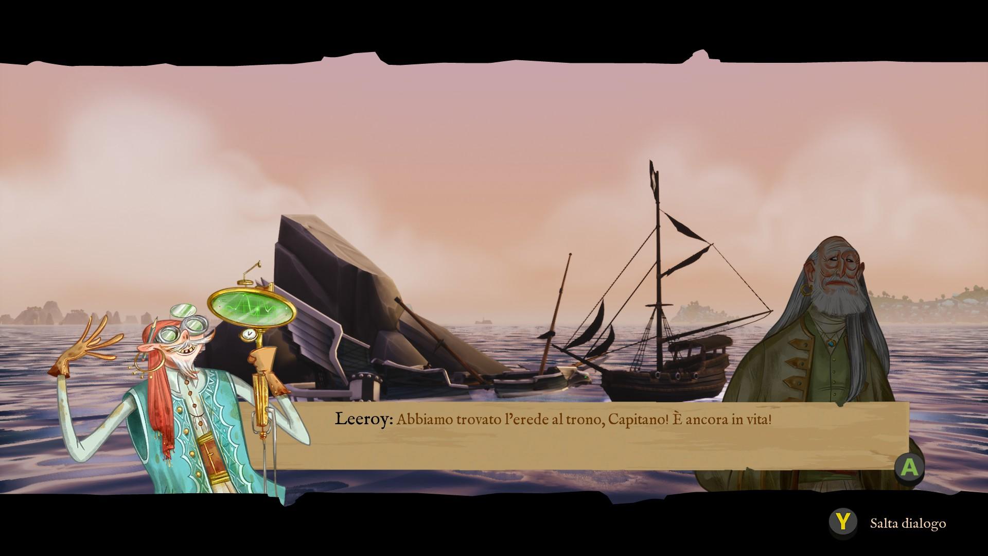 King of Seas, il ritrovamento del Principe.