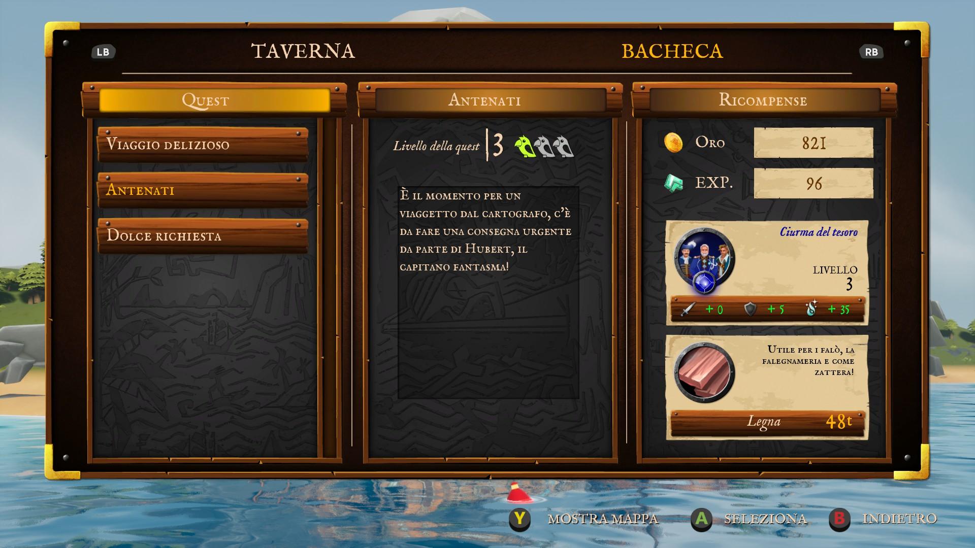 King of Seas, la Taverna.