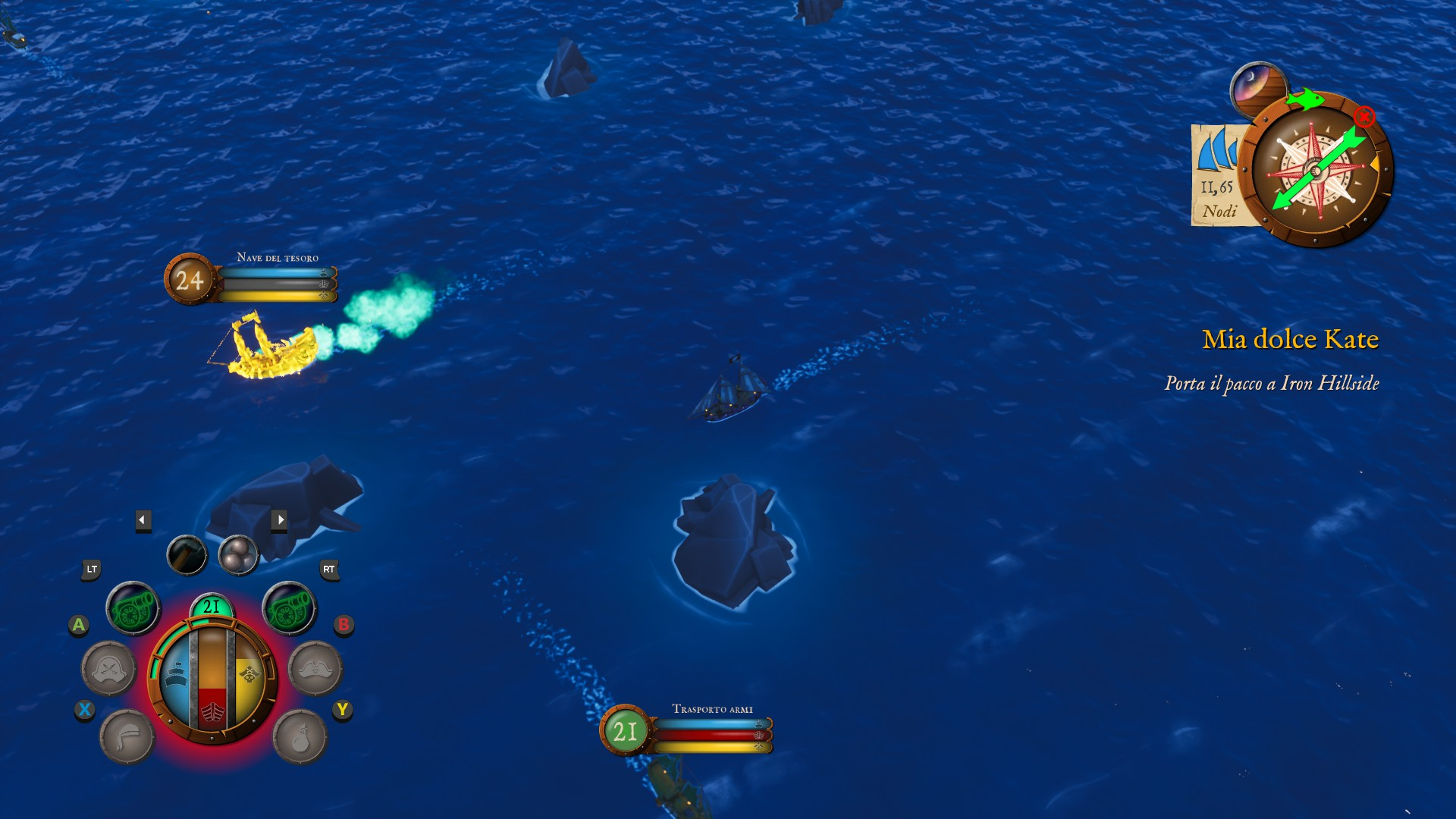 King of Seas, un inseguimento.