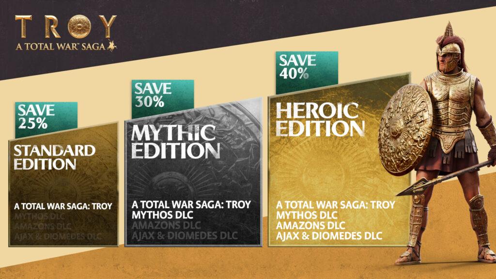 A Total War Saga Troy – MYTHOS edizioni