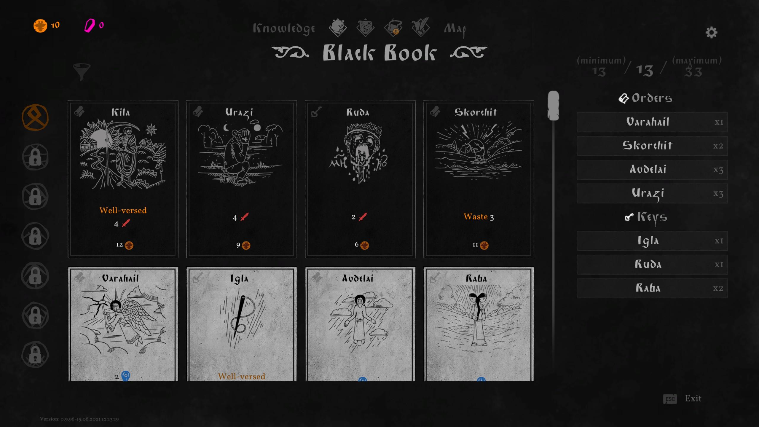 Black Book cards