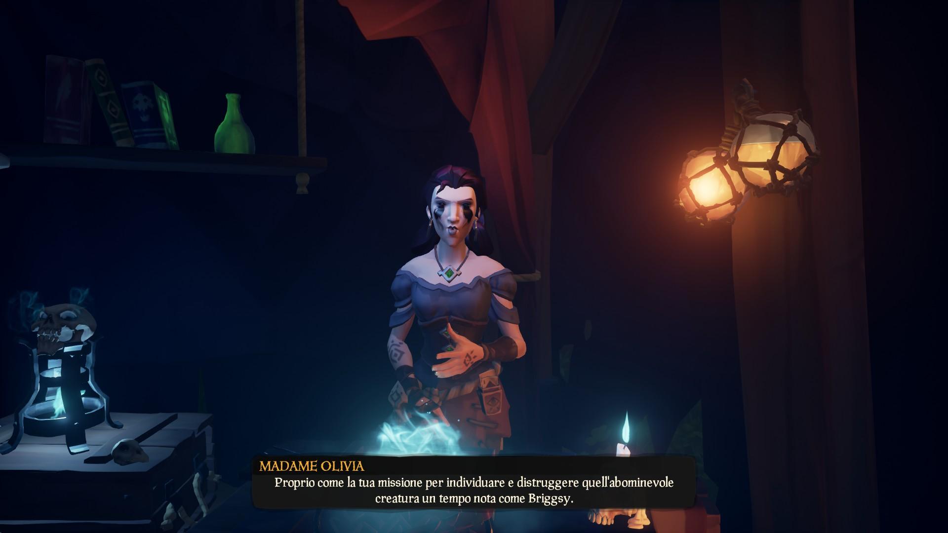 Il Furfante Maledetto, Madame Olivia