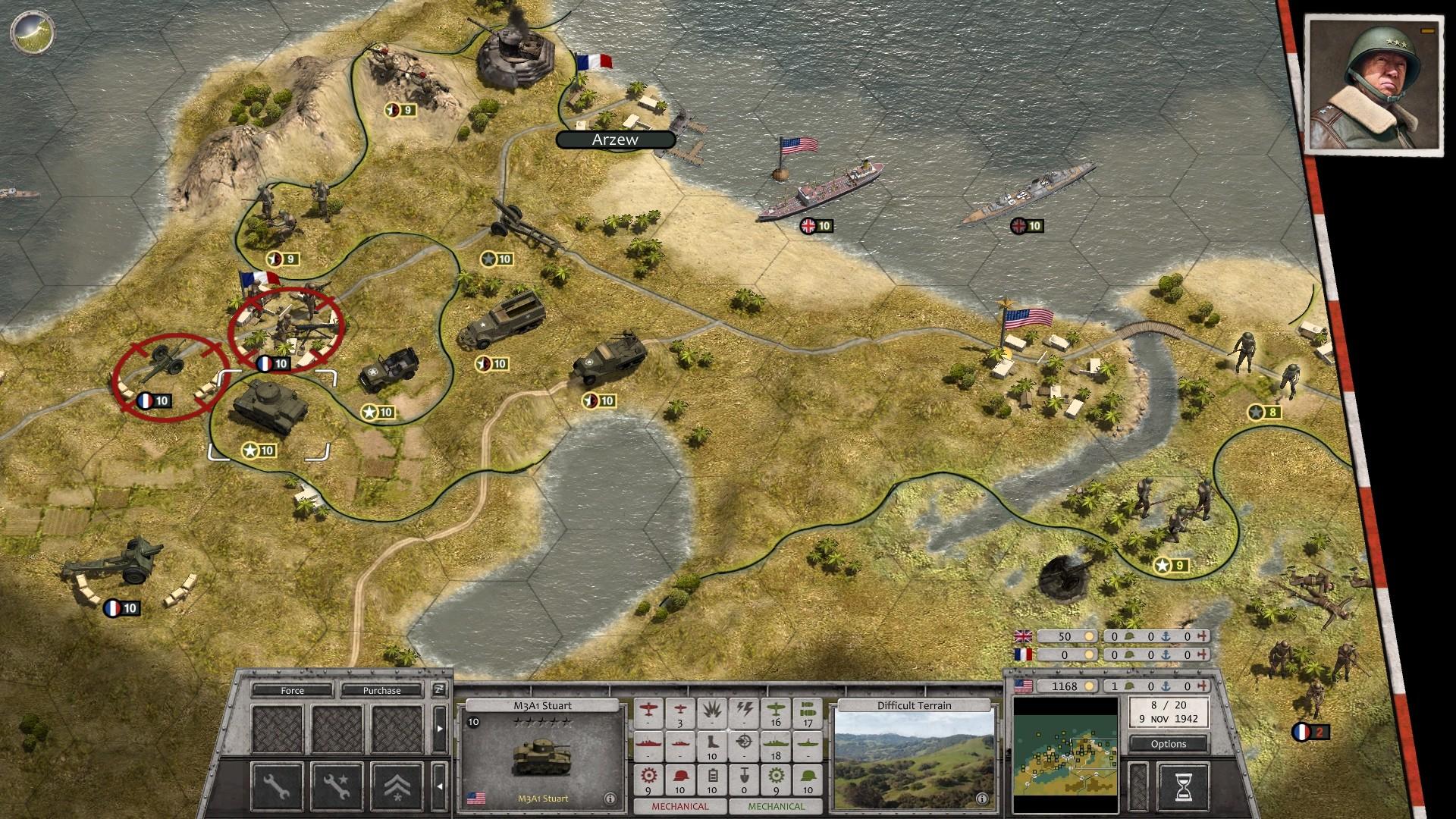 Order of Battle: Allies Resurgent patton