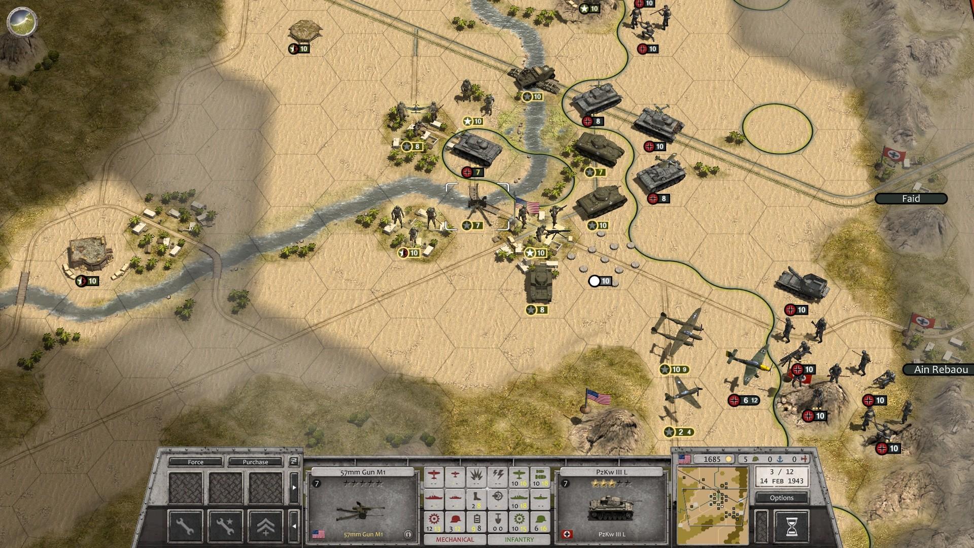 Order of Battle: Allies Resurgent battles