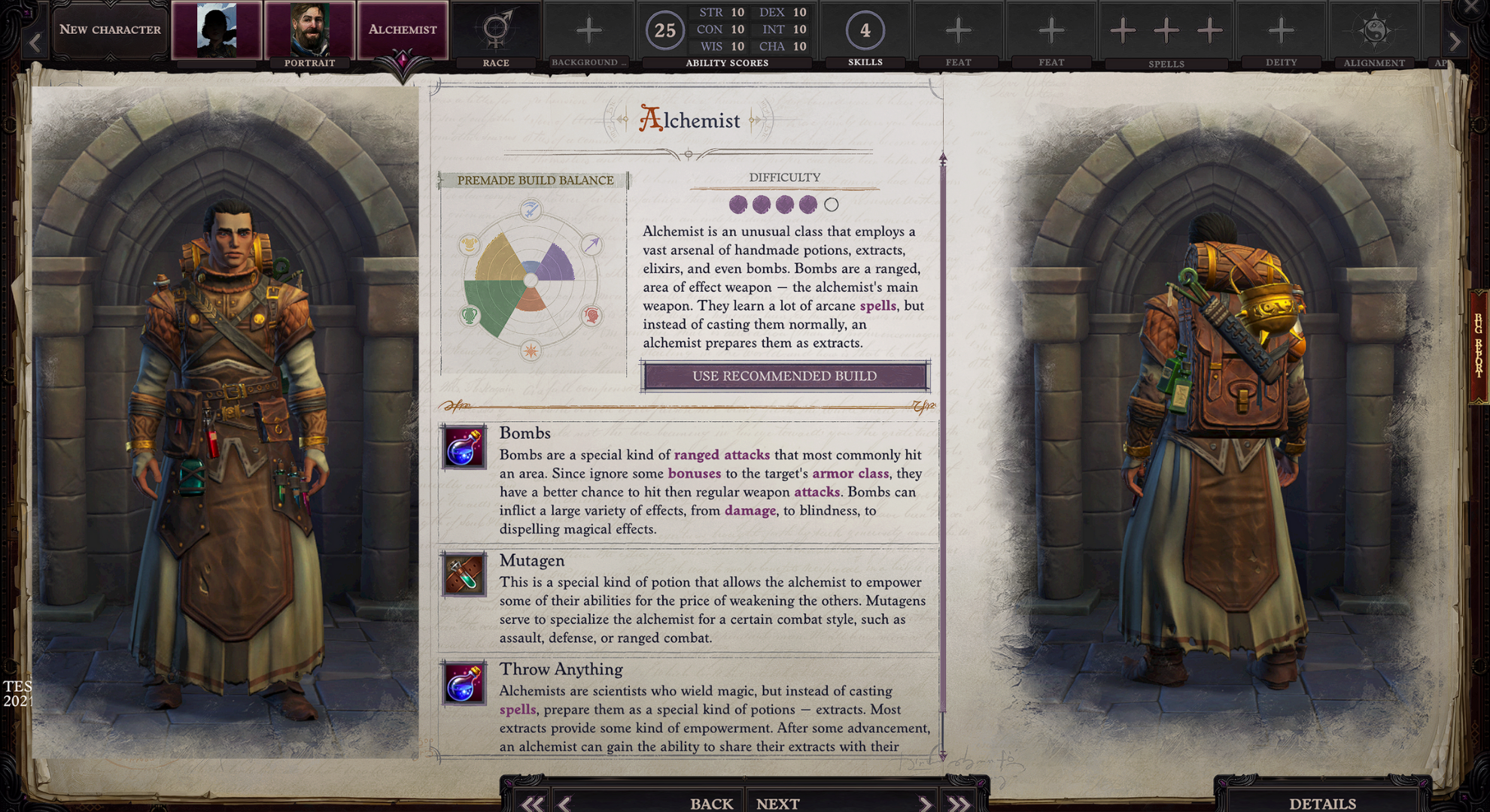 Pathfinder Wrath of the Righteous alchemist