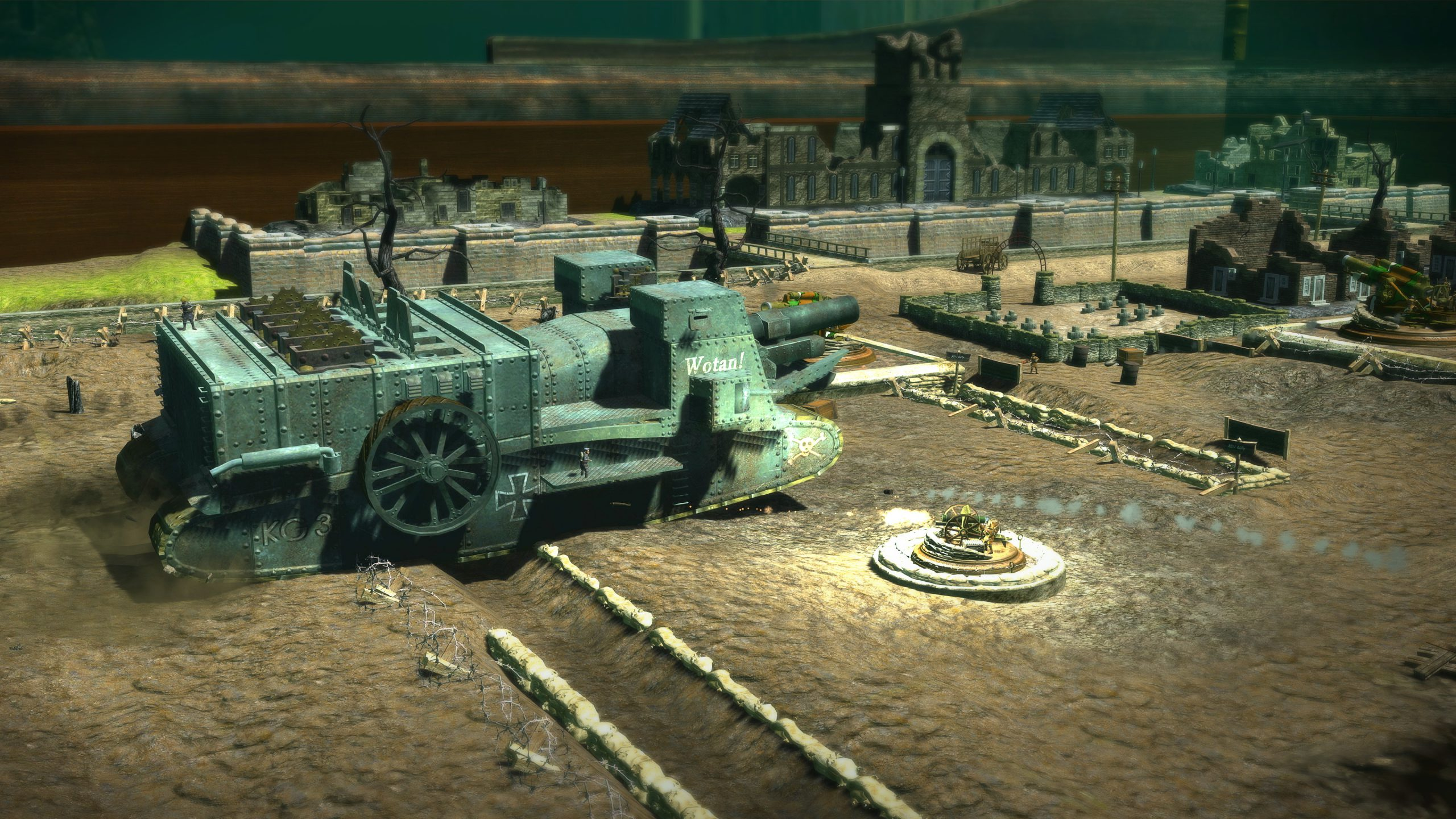 Toy Soldiers HD boss