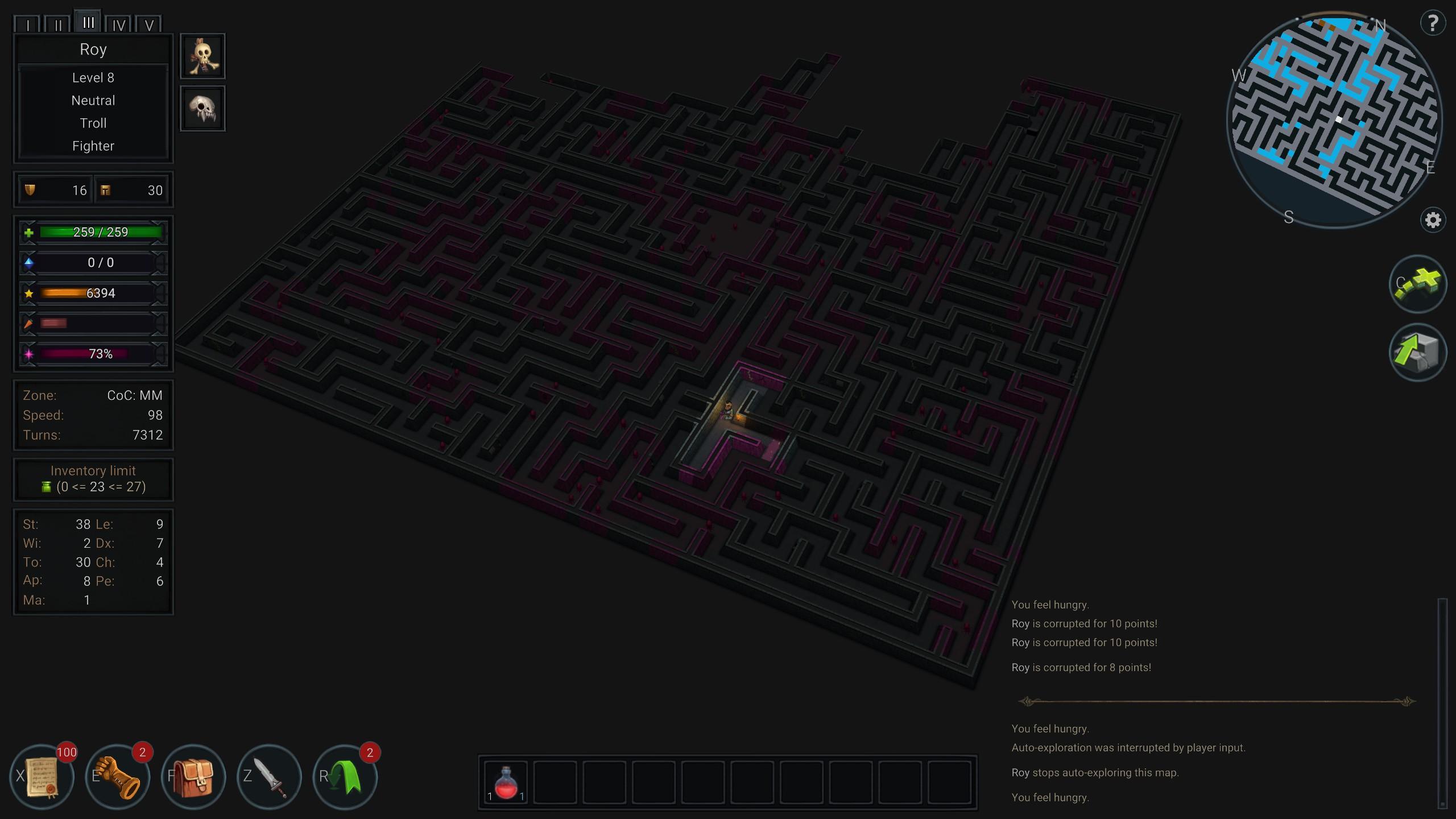 Ultimate ADOM map