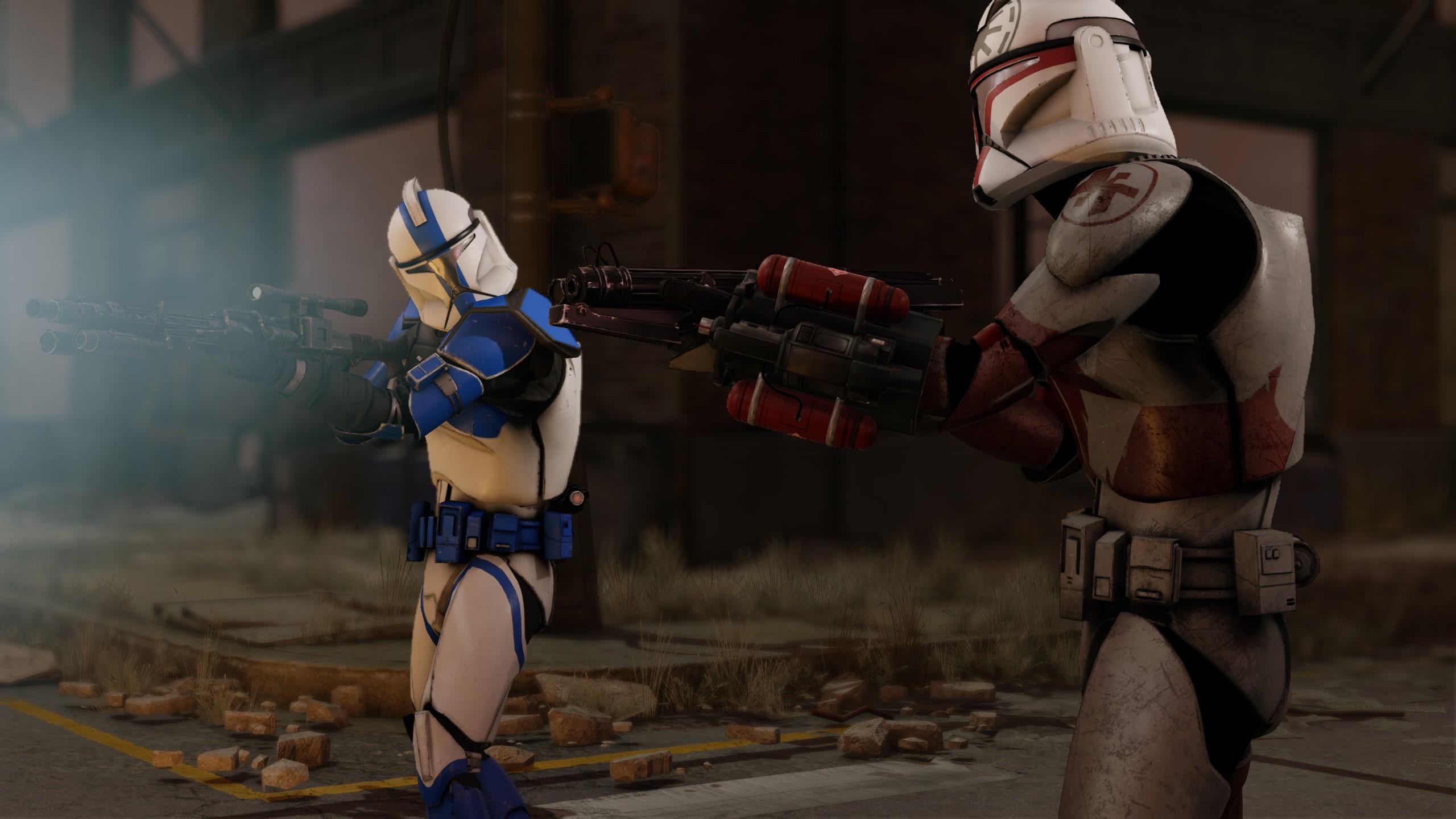 XCOM 2 star wars clones