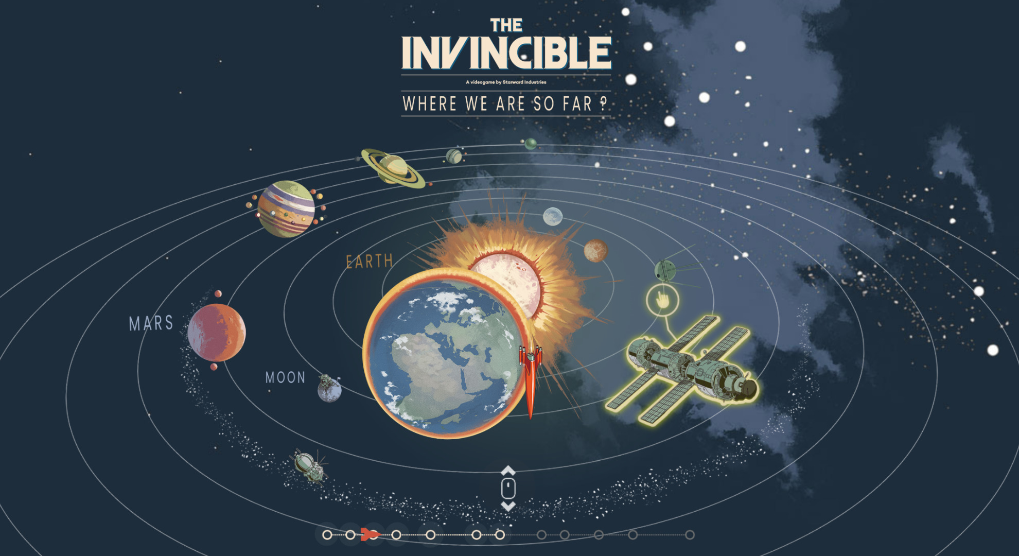 The Invincible space