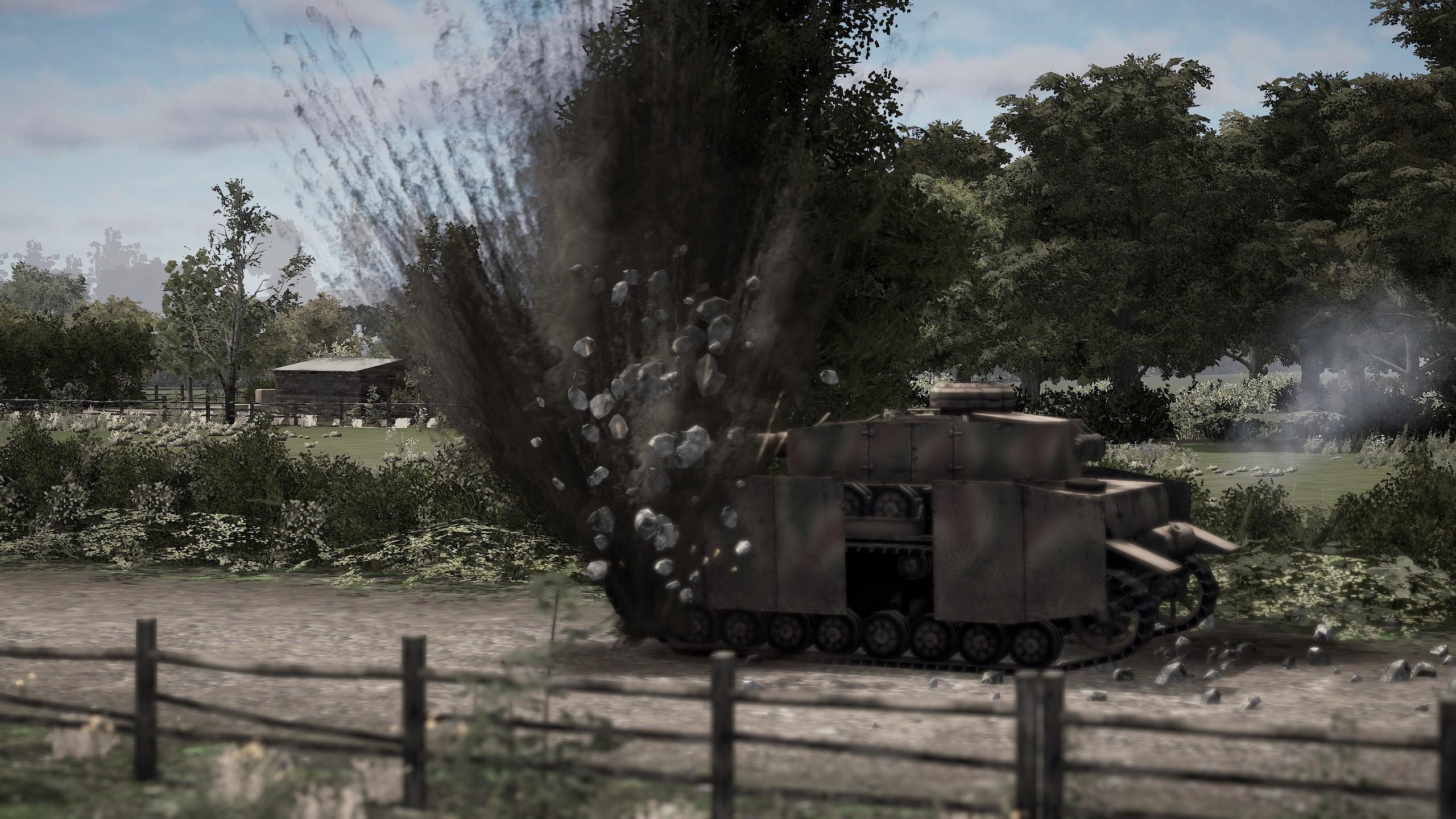 The Troop tanks